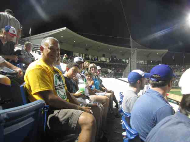 More of our group at the game