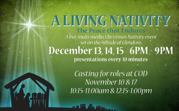 Nativity 2013 casting billboard